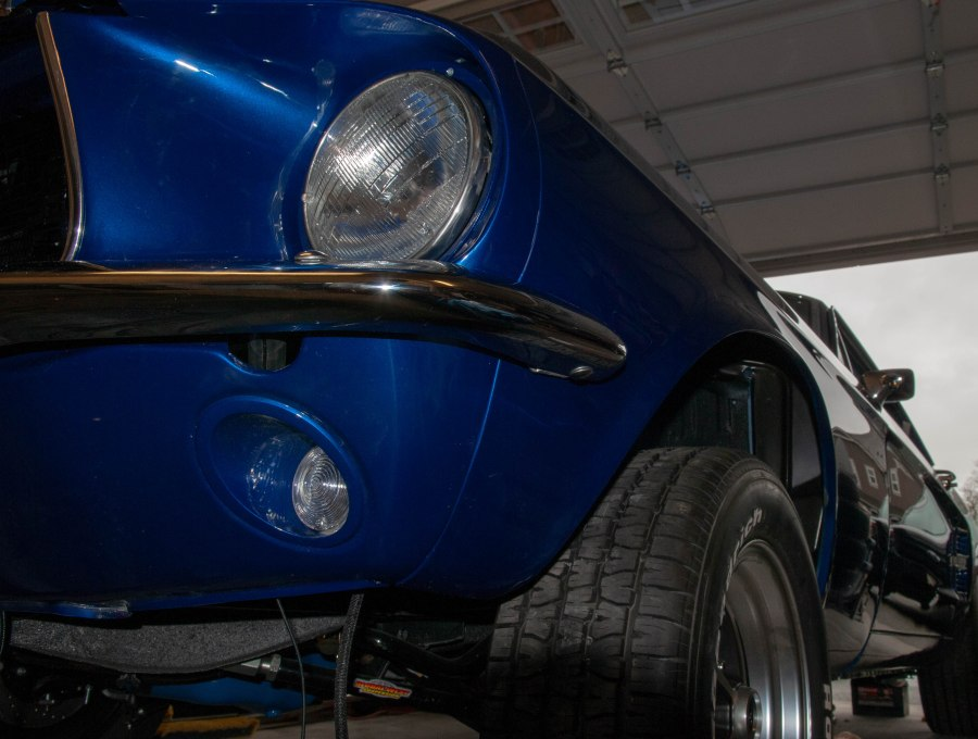 Body work brad albrechts mustang restoration projects front bumper and valance publicscrutiny Image collections